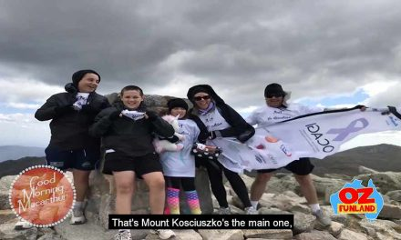Creecys conquer Mount Kosciuszko for OCAGI