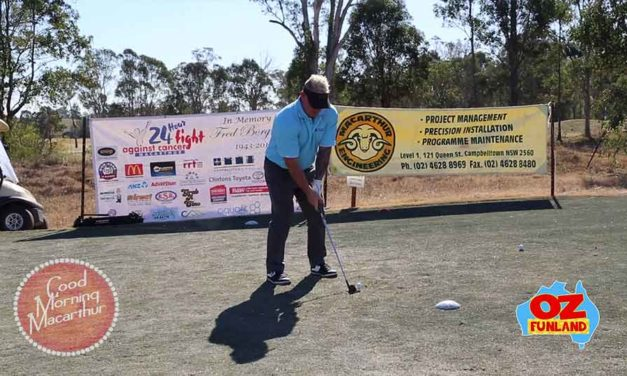 Wazza's Annual Golf Day Raises Funds for 24 Hour Fight Against Cancer Macarthur