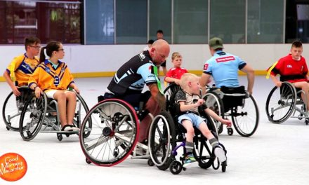 Wheelchair Rugby's Here!