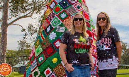 Crocheted Christmas Tree
