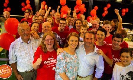 Greg Warren retains Campbelltown State seat