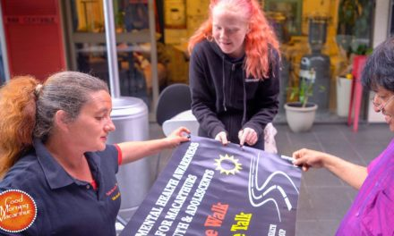 Walking to Canberra for Mental Health Awareness