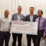 Campbelltown's Bangla Deshi community raises $15,000 for neighbouring fire-affected families