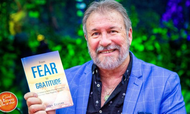 Glenn Cossar releases his second inspirational book, From Fear To Gratitude