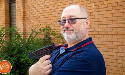 Peter Novakovich's next show parodies James Bond