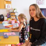 Young Astrid helps deserving families with her Easter packs