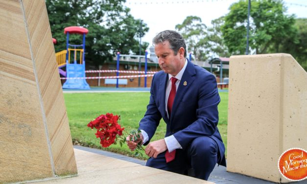NSW Shadow Veteran Affairs Minister Greg Warren reflects + Flashback to ANZAC Day Campbelltown 2016