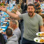 Flashback: Celebrity chef Manu