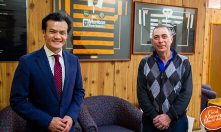 State MP Anoulack Chanthivong pushes for a Work In Ingleburn strategy