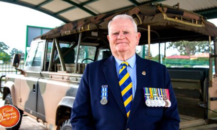 RSL NSW President Ray James honoured with an OAM