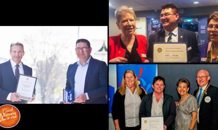 Kevin Dillon, Warren Morrison & Shining Stars commended for their community service