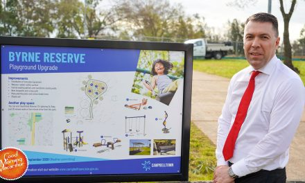 Campbelltown families welcome new & accessible play spaces
