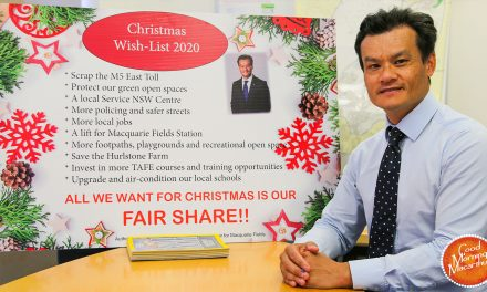 Will Santa give Macquarie Fields what the Government won't?