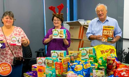 Coles Workers Get Some Christmas Cheer