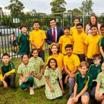 Students from Glenfield Public School campaign for road safety improvements around their school