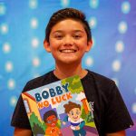 Sean's an international author at 10!
