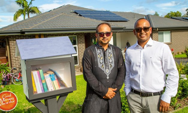 Aus-Bangla Community Connect launches another Street Library