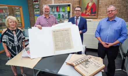 Campbelltown's first newspaper preserved