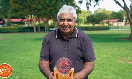 Uncle Ivan is Campbelltown's Citizen of the Year 2021
