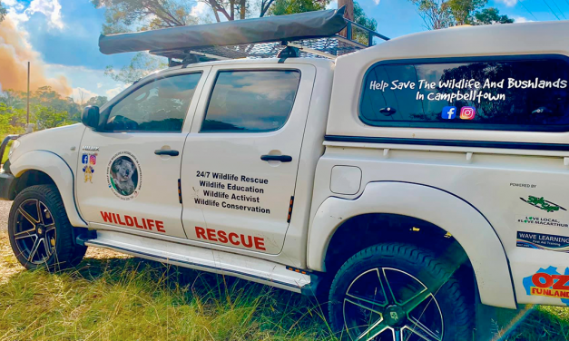 Help save this rescue vehicle