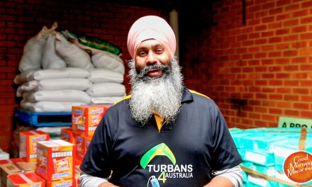 Turbans 4 Australia remain an inspiration as they respond to the community's needs