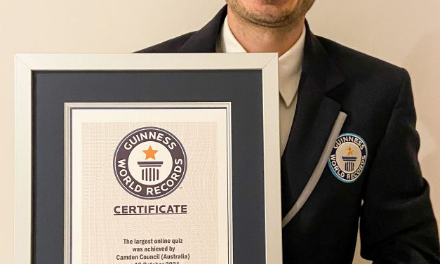 Camden scores a Guiness World Record